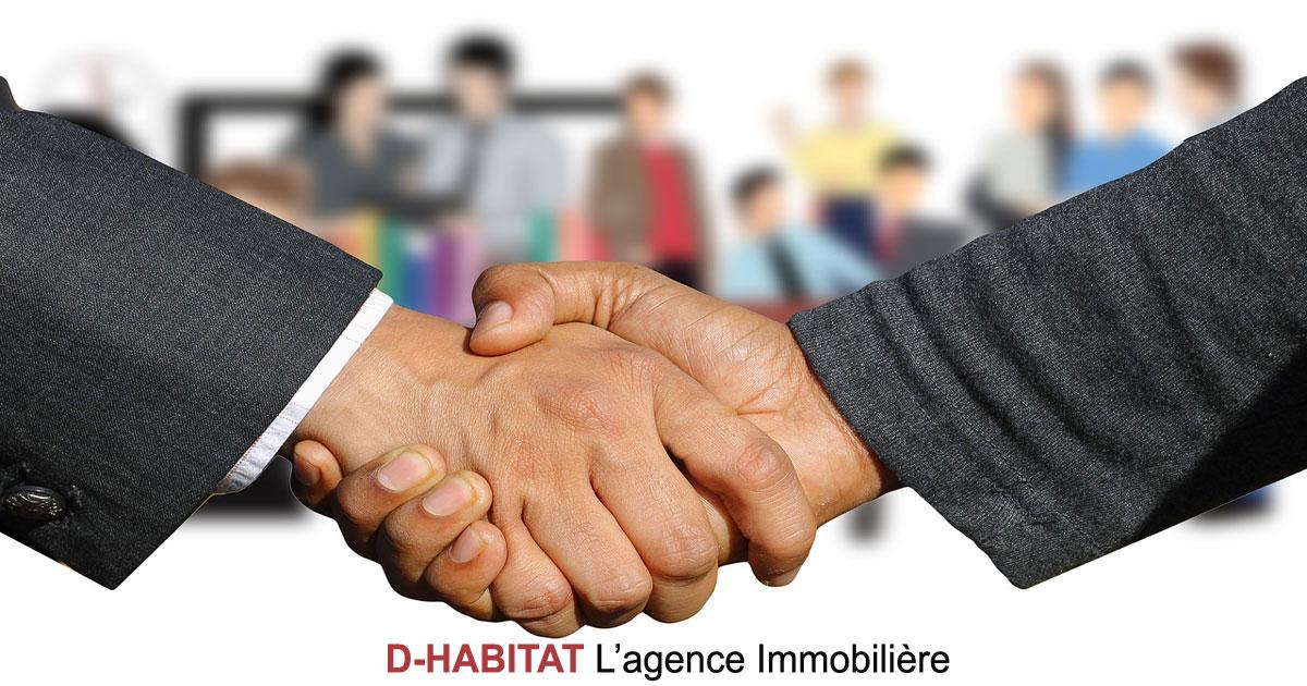 Devenez conseiller(e) en immobilier avec D-Habitat