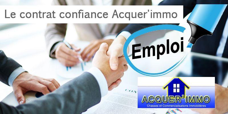 Le contrat confiance Acquer'immo: Agent commercial immobilier sur BORDEAUX (33)